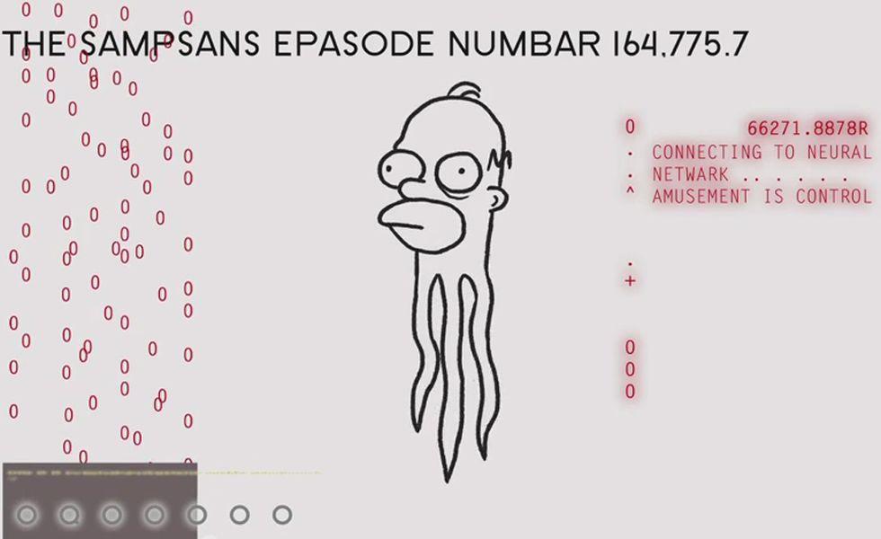 I Simpson, la gag del divano firmata Don Hertzfeldt