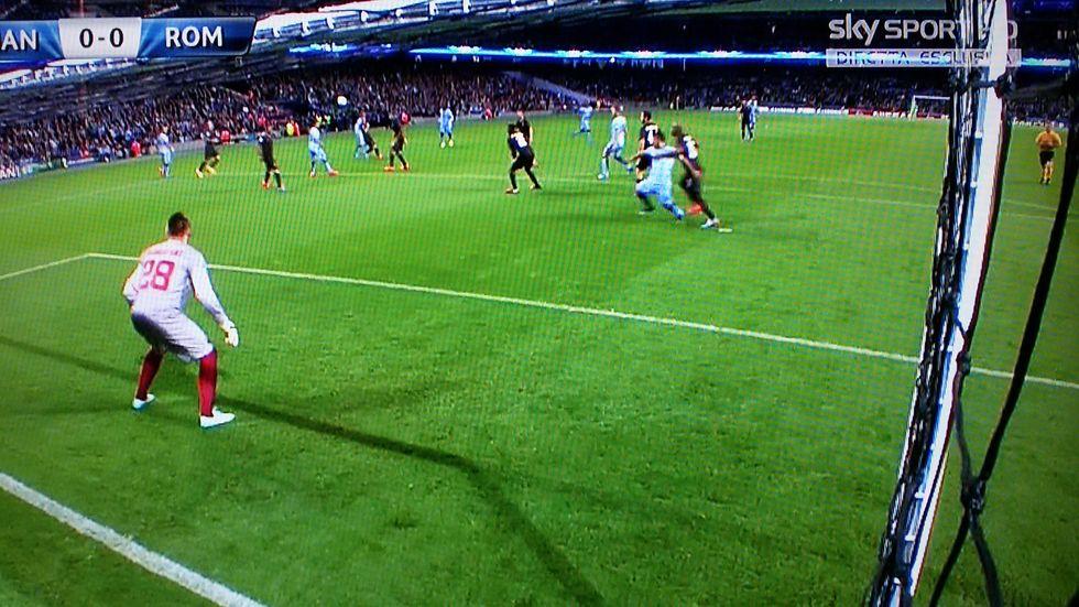 Manchester City-Roma 1-1: la moviola