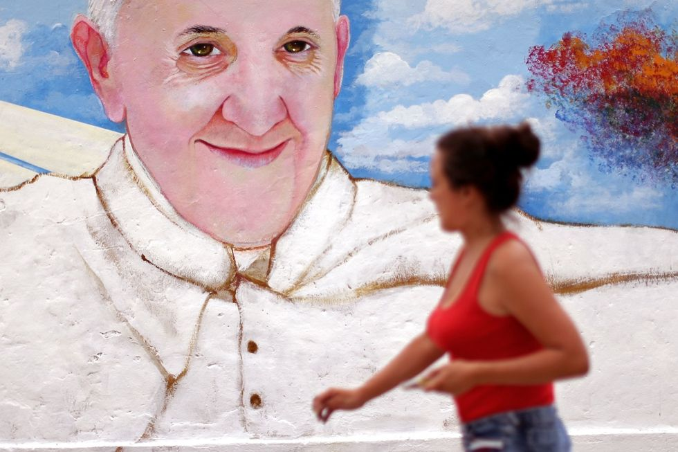 Pope Francis Chile
