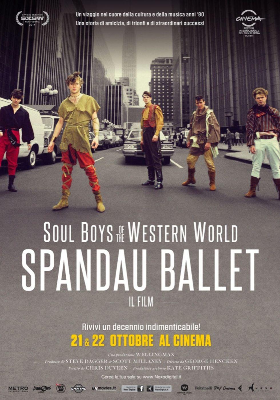Spandau Ballet: la storia al cinema