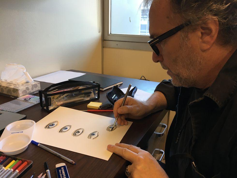 Bertolazzi, il make up artist da Oscar che adora inquietare