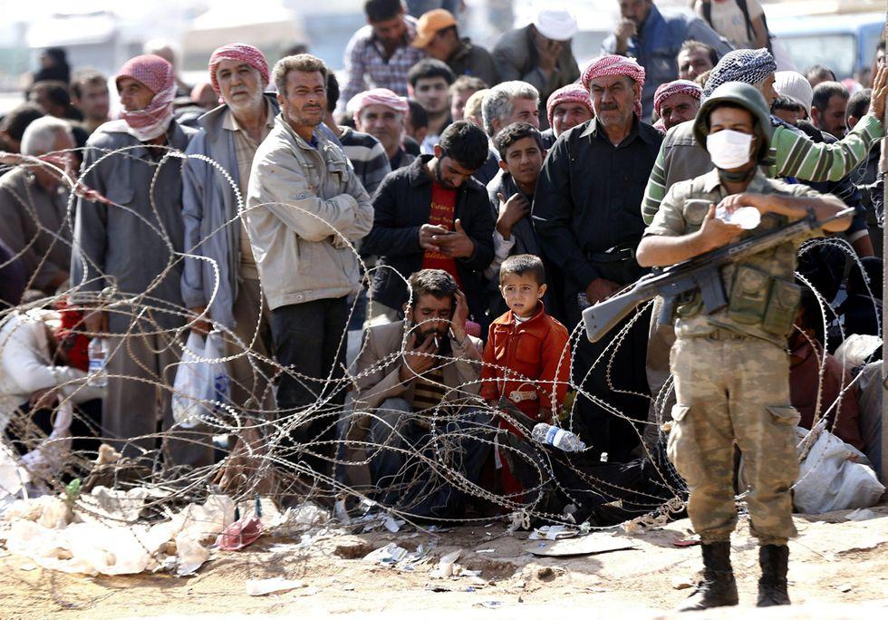 Il popolo di Twitter si schiera con #Kobane