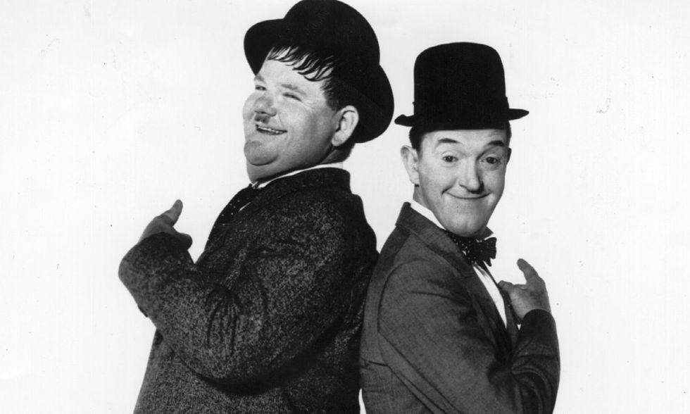 Mr. Laurel & Mr. Hardy: la biografia autorizzata di Stanlio e Ollio in Italia