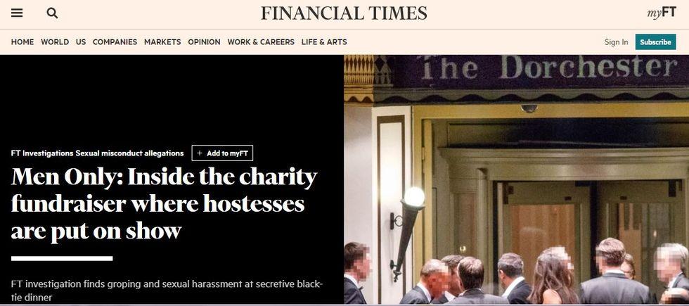 L'inchiesta del FT che imbarazza il mondo della finanza londinese