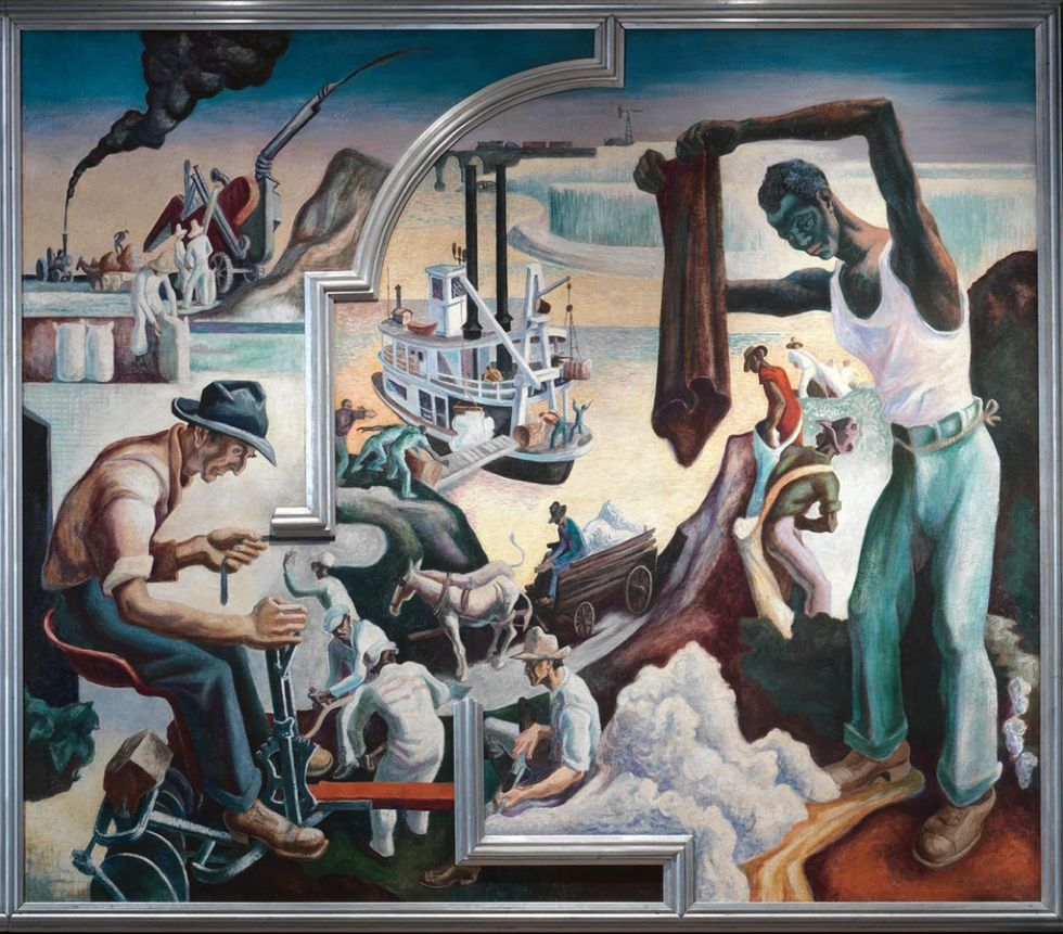 Thomas Hart Benton's 