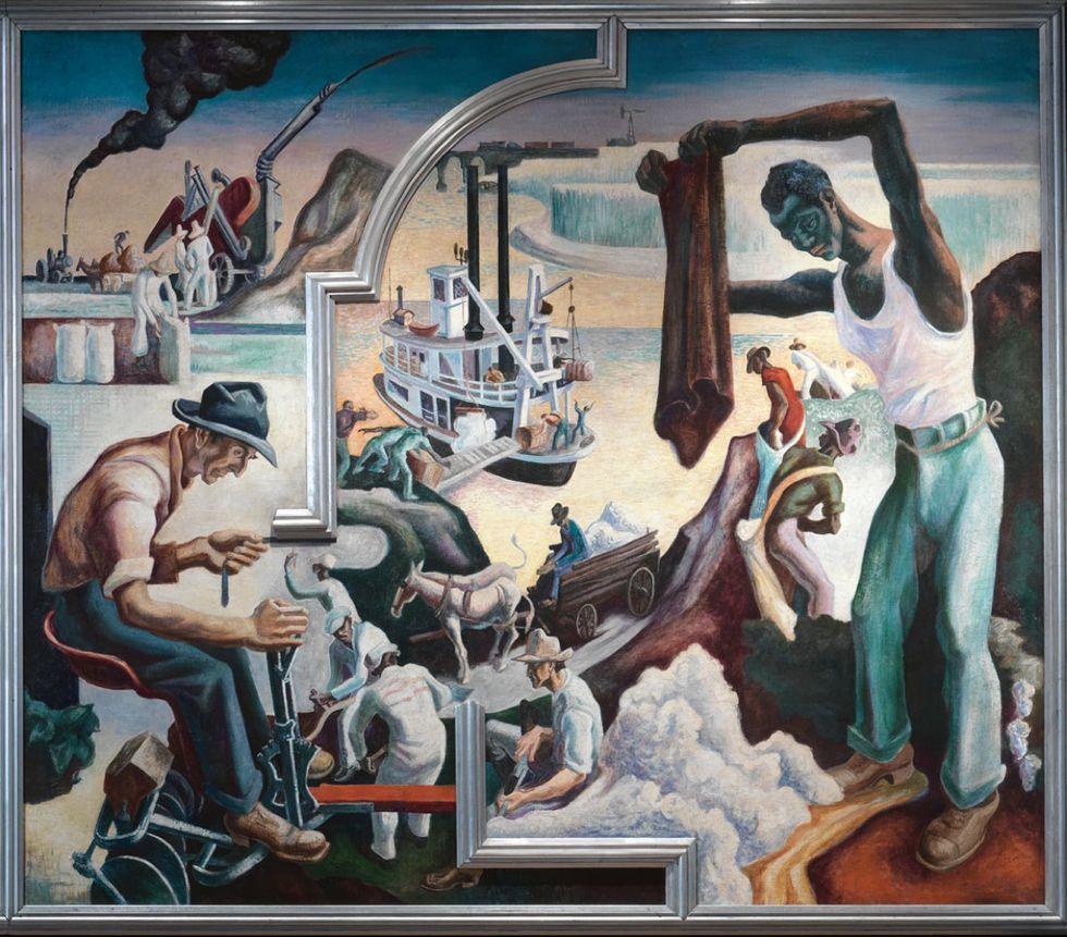 Thomas Hart Benton's America Today Mural Rediscovered
