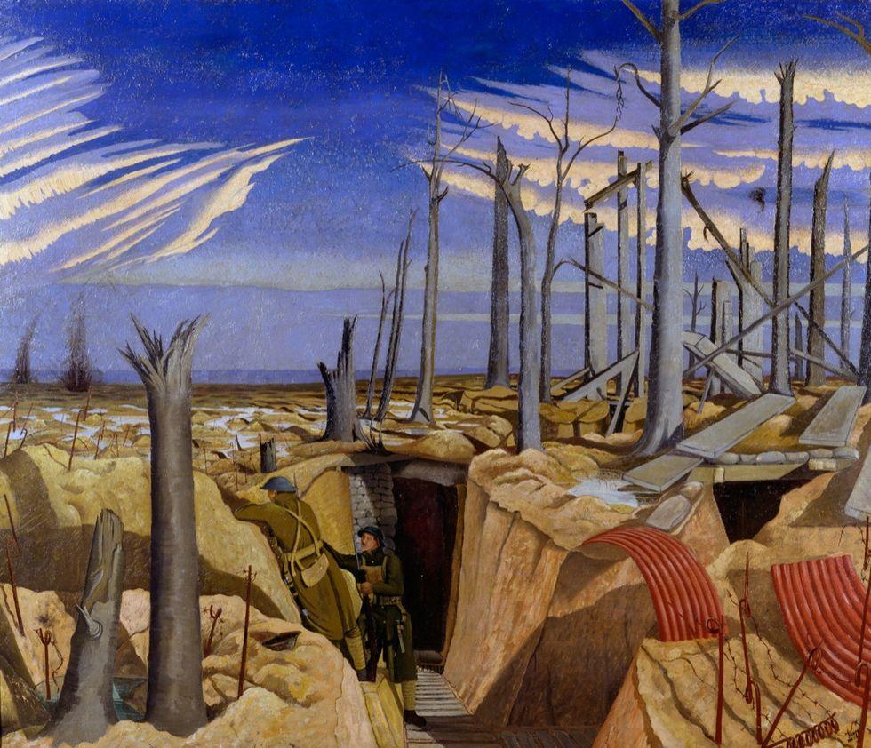 Gli artisti inglesi e i colori della Grande Guerra