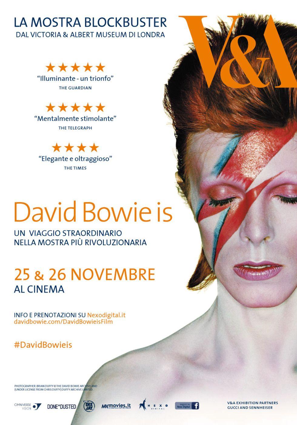Tutto David Bowie in un film