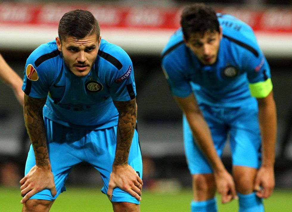 I crampi e i mali dell'Inter