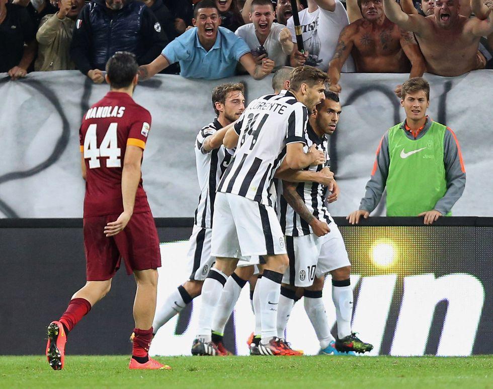 Juventus - Roma vista dal popolo di Twitter