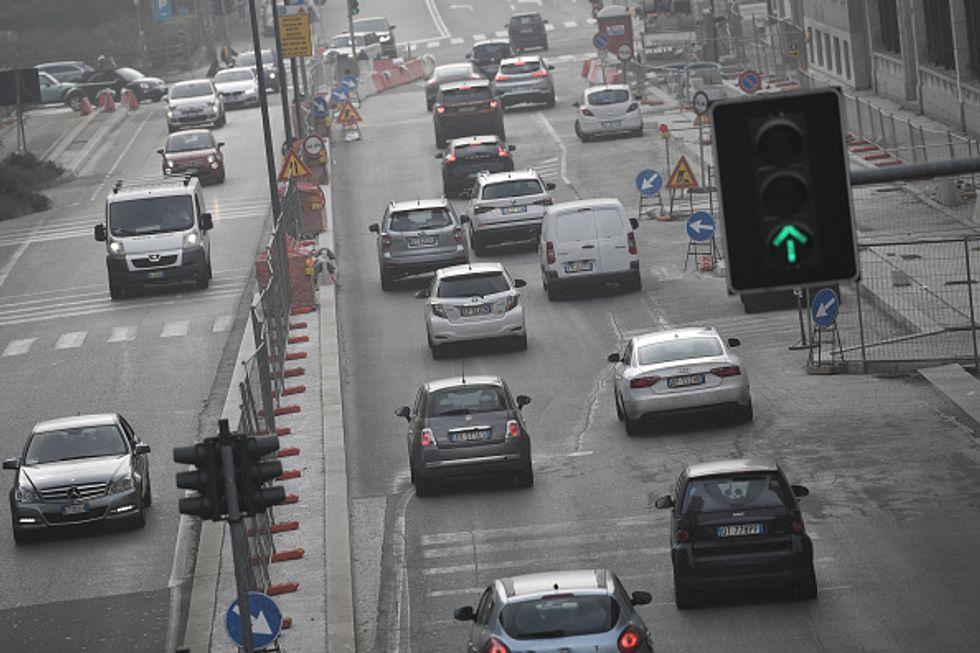 traffico inquinamento salute
