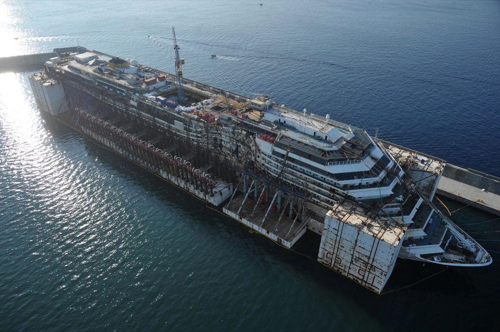 Che fine ha fatto la Costa Concordia?