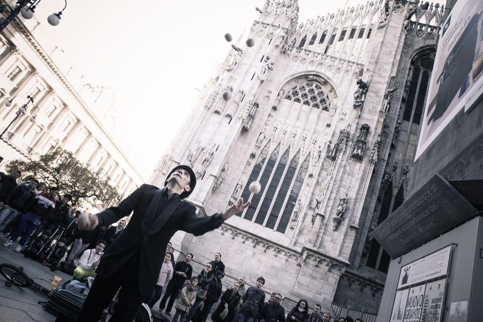 Arte di strada a Milano