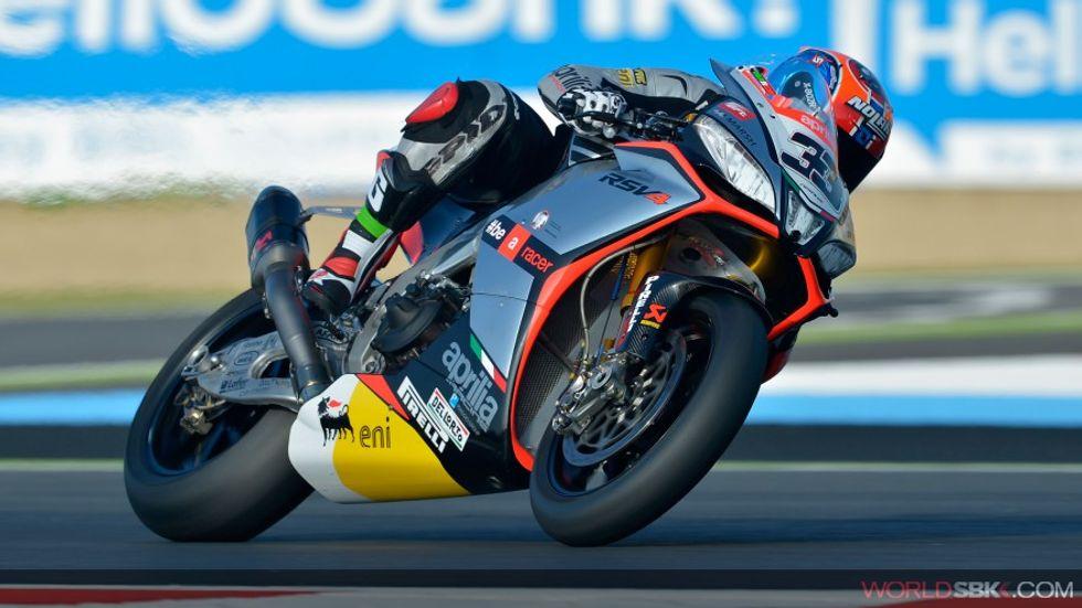 Superbike, le pagelle di Magny Cours: Melandri da 10