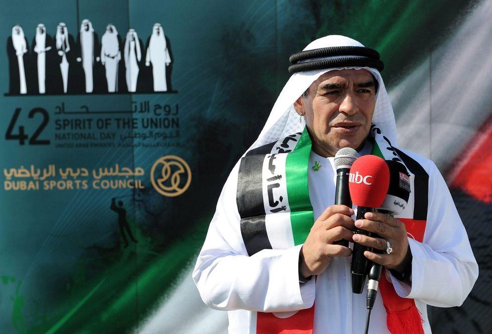 Maradona ct della Palestina?