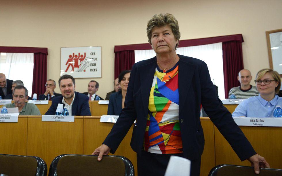 Susanna Camusso: confronto e conflitto con Renzi