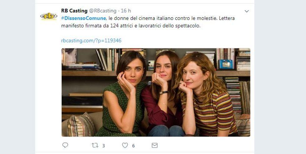 Fa discutere la lettera aperta delle attrici italiane