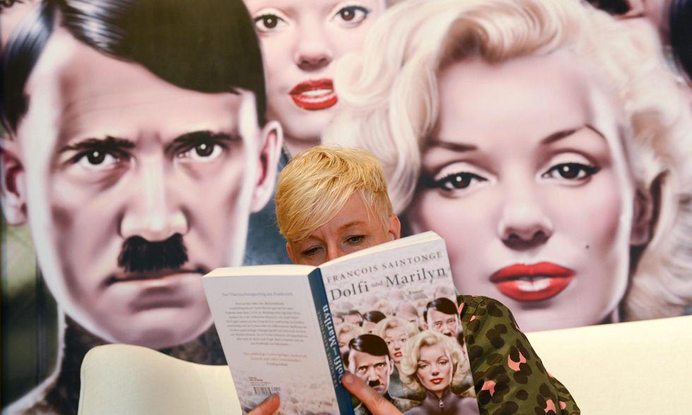 La Fiera del libro a Francoforte e altre foto del giorno, 07.10.2014