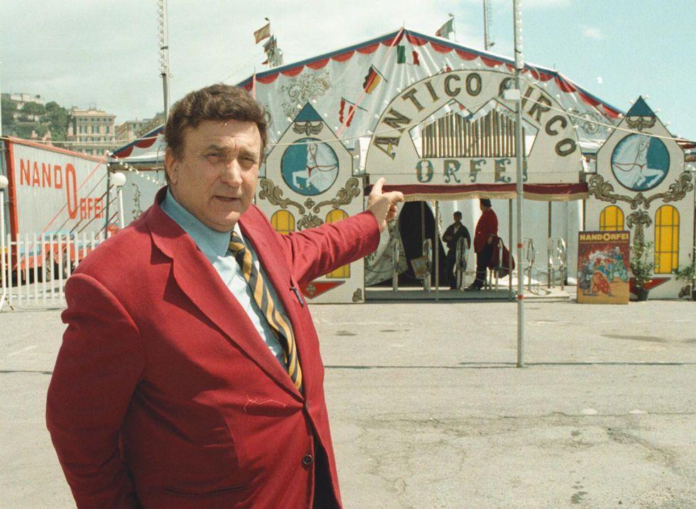 Il circo in lutto: è morto Nando Orfei