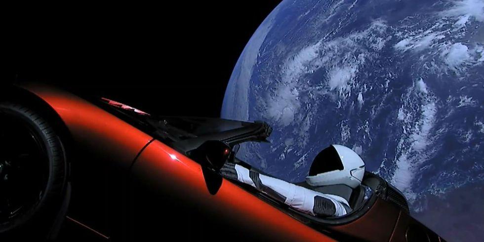 Tesla Space X