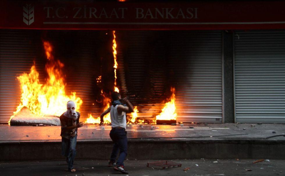 Turchia, l'assedio e la protesta