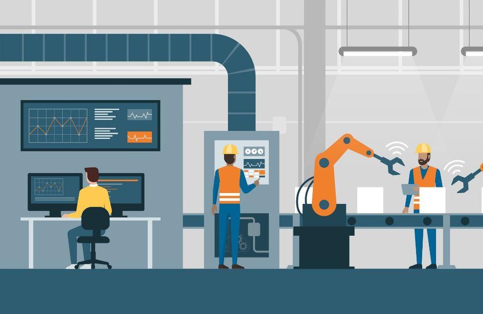 lavoro fabbrica automazione 4.0