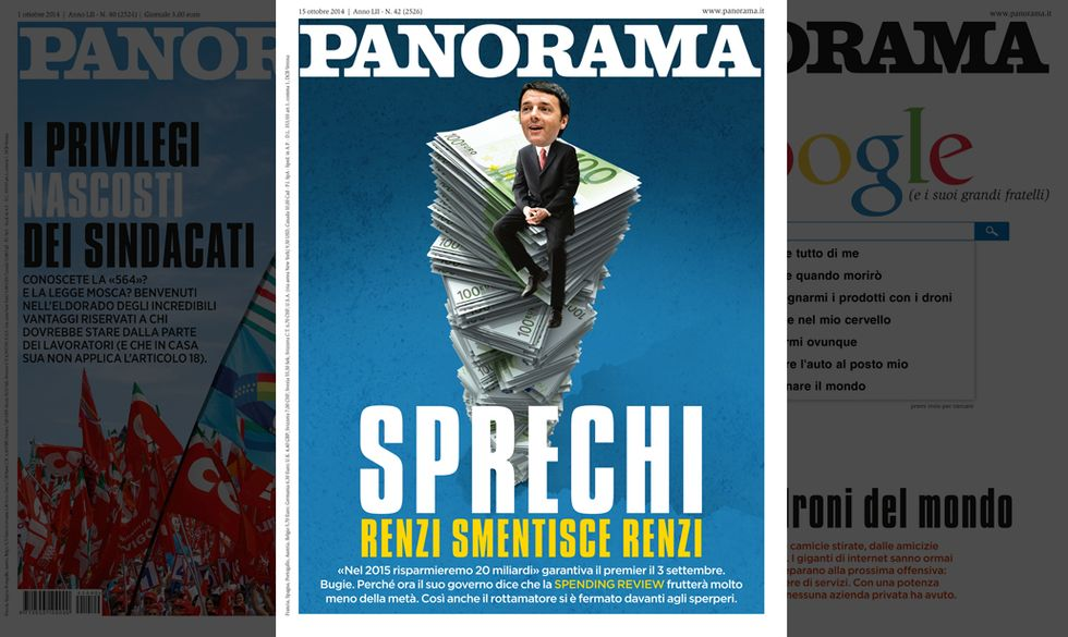 Sprechi: Renzi smentisce Renzi