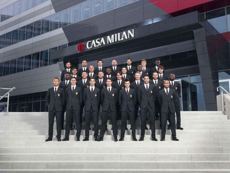 I sarti del Milan da dieci anni (beati loro)