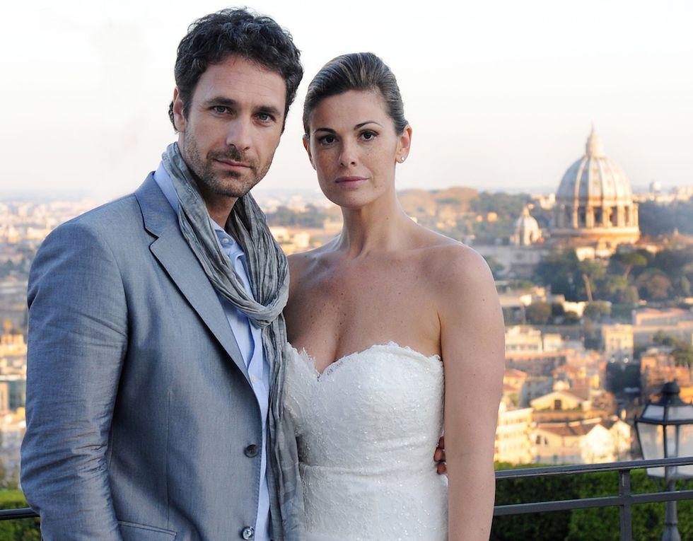 Angeli - Una storia d'amore, il film tv con Vanessa Incontrada e Raul Bova