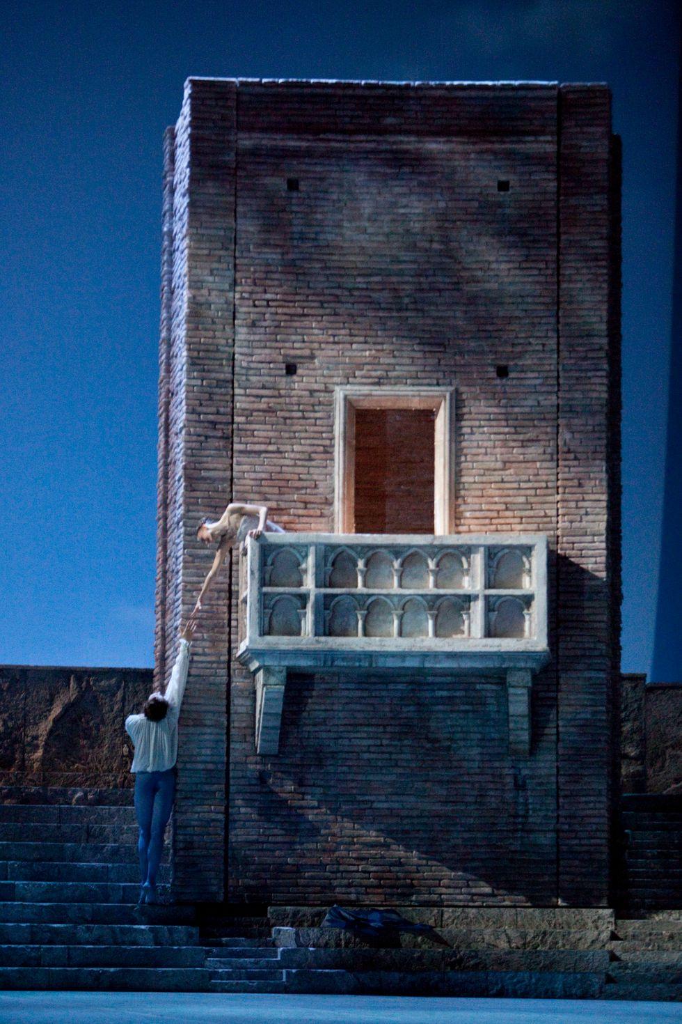Romeo e Giulietta: la scena del balcone