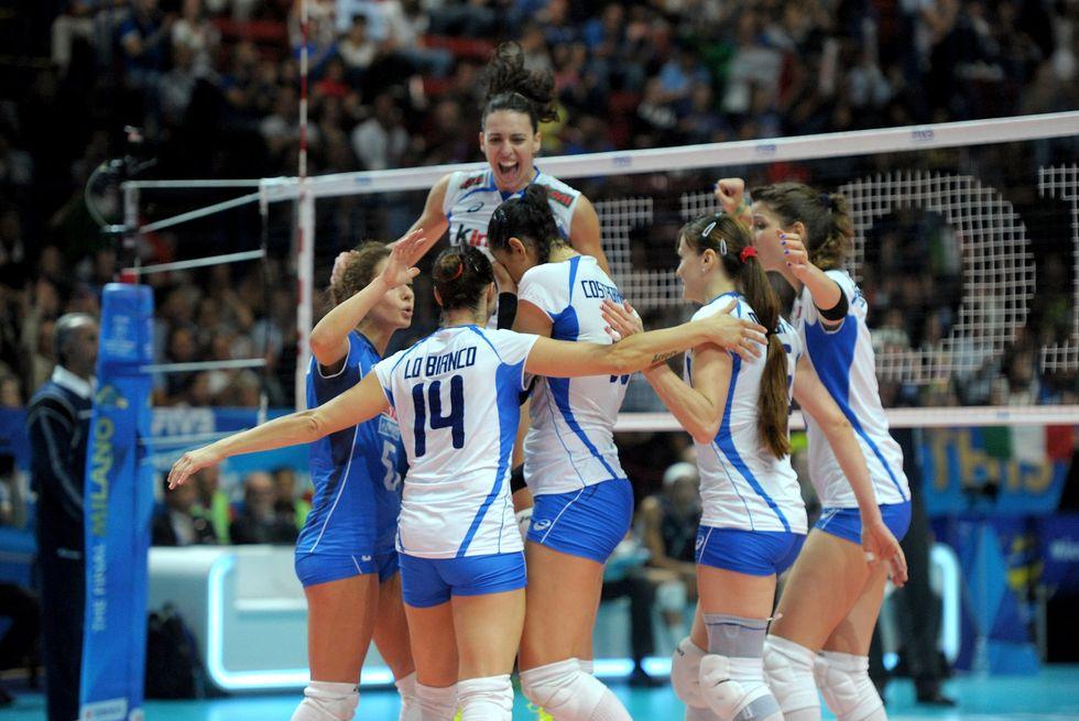 Mondiali volley: il meglio di Italia - Usa - FOTO