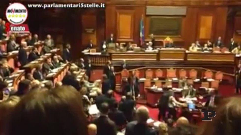Senato: ecco il lancio del libro contro Grasso