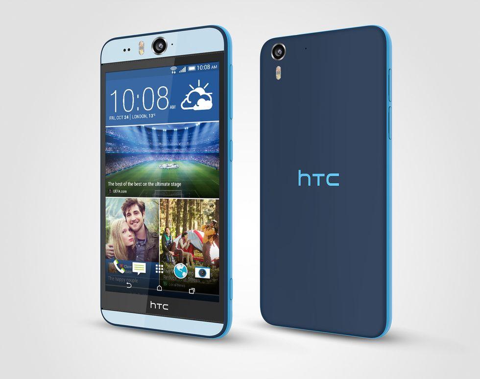 HTC Desire Eye: se la fotocamera frontale vuole la parità di diritti