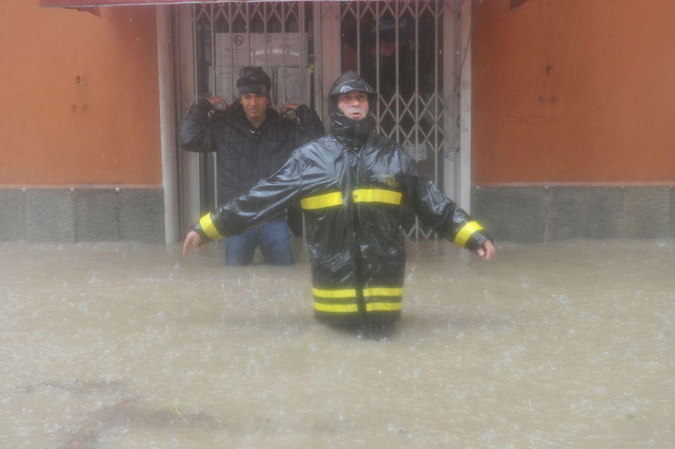 Alluvione a Genova: i video