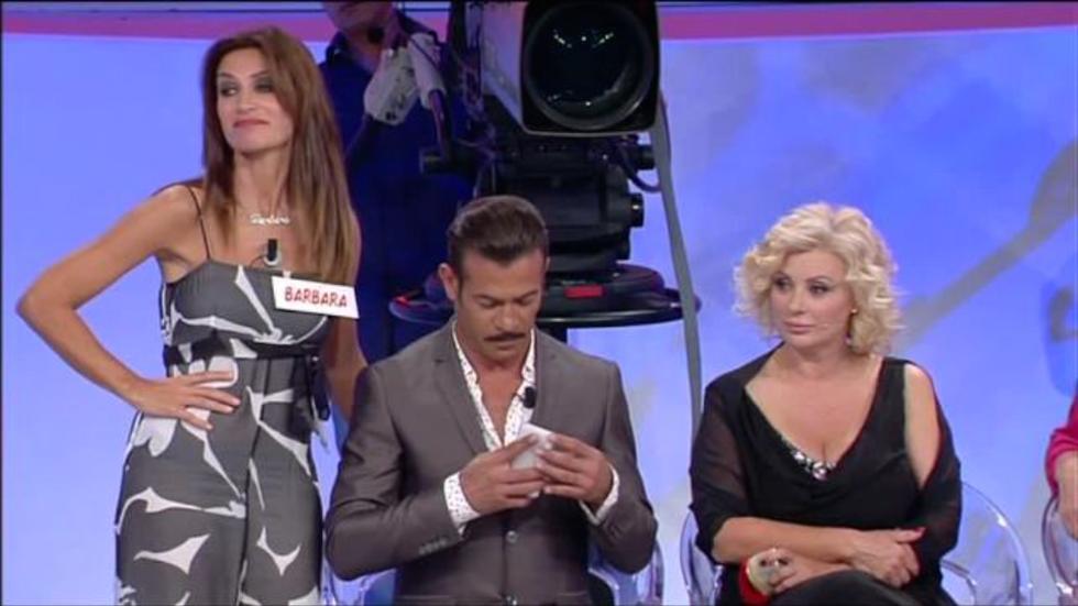 Uomini e Donne: Barbara show contro Guido