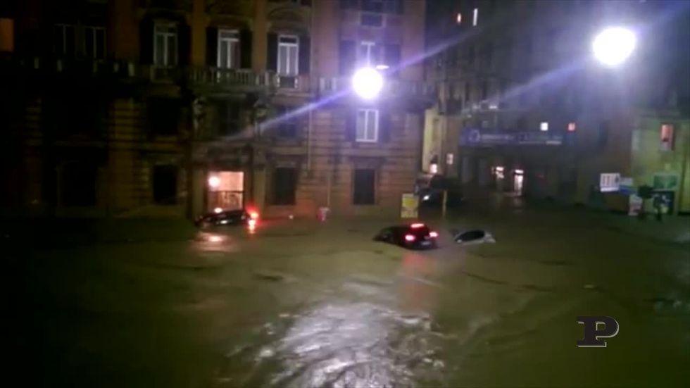 Alluvione Genova: un fiume in città