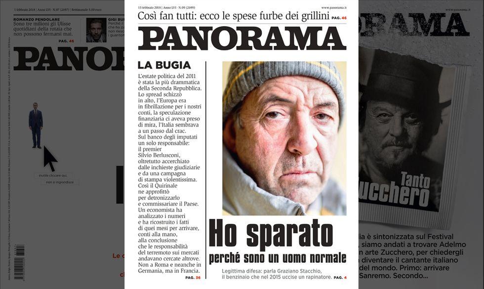 cover panorama n. 9 15 febbraio 2018