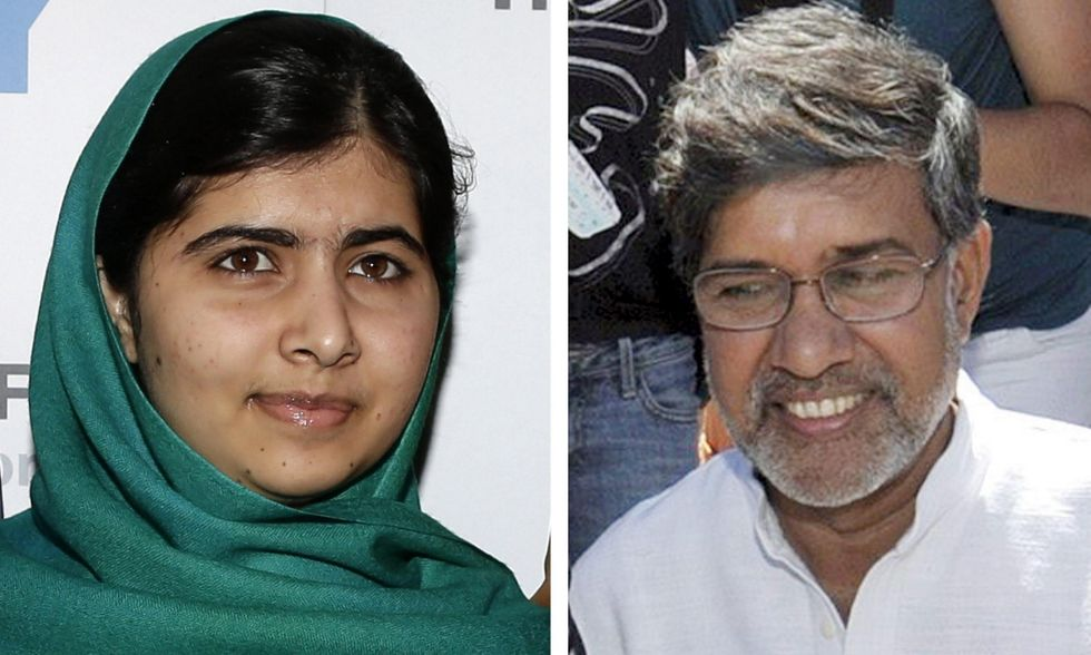 Premio Nobel per la pace a Malala Yousafzay e Kailash Satyarthi