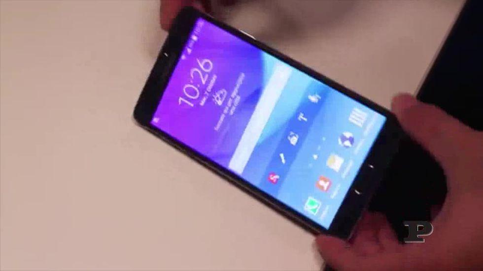 Samsung Galaxy Note 4, la prova