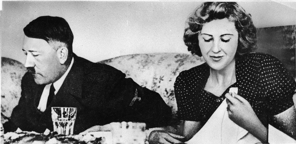 Hitler, con Eva Braun solo sesso a distanza