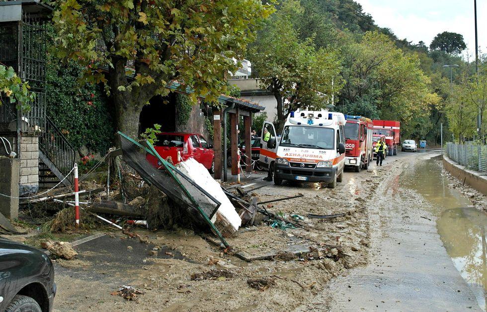Maltempo: la mappa dei danni nel Centro e Nord Italia