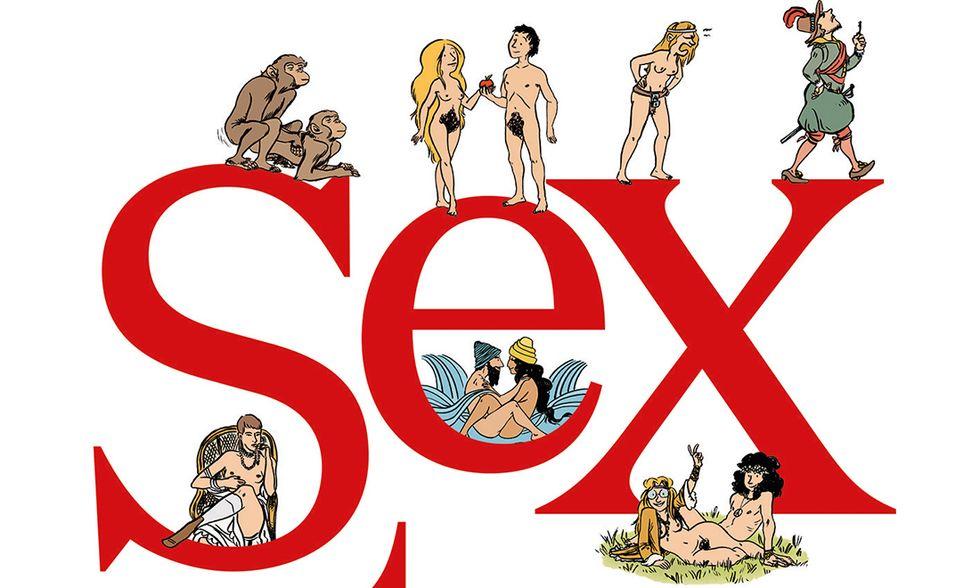 Sex Story. La prima storia del sesso a fumetti di Philippe Brenot e Laetitia Coryn