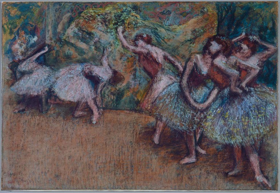"""La petite danseuse"" di Degas in mostra a Washington"