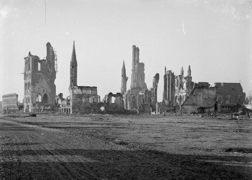 Un secolo fa la prima battaglia di Ypres