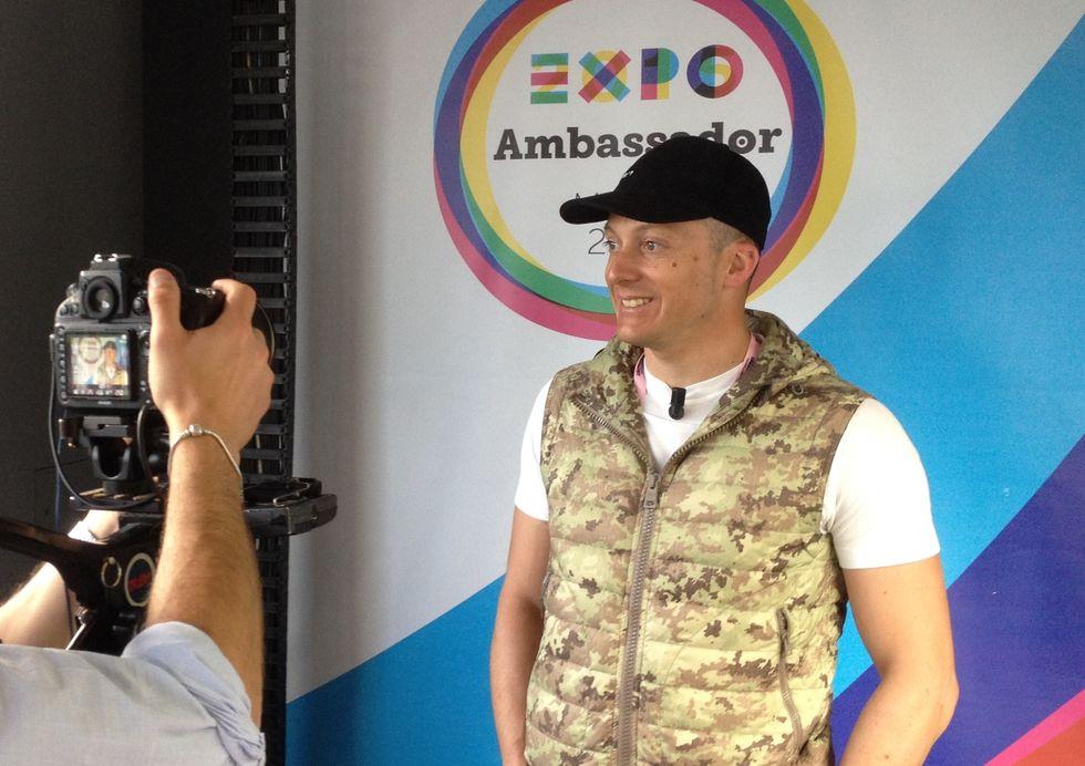 Sono Ambassador Expo Milano2015!!!