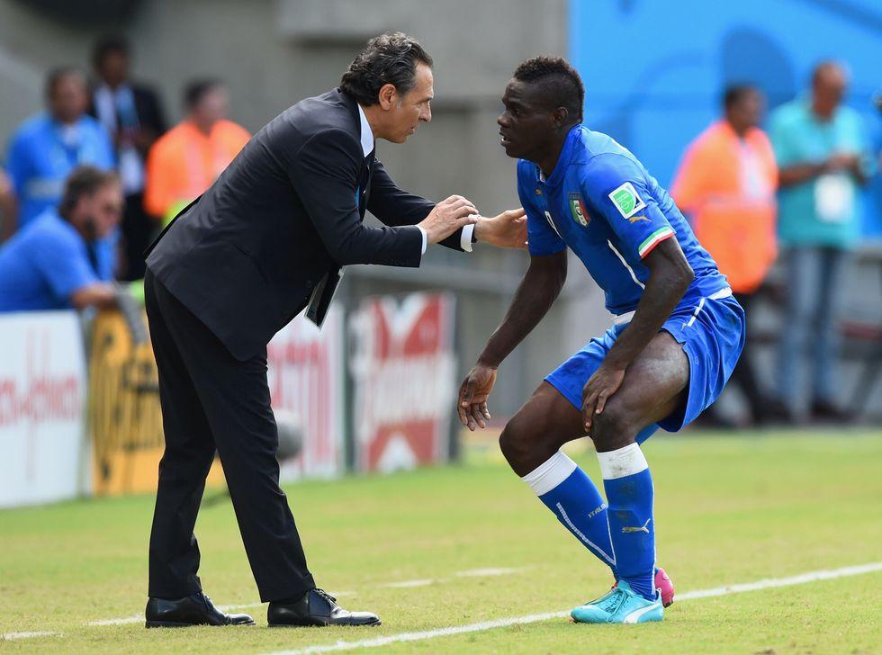 Dopo l'Italia, Prandelli: Balotelli insulta pure lui