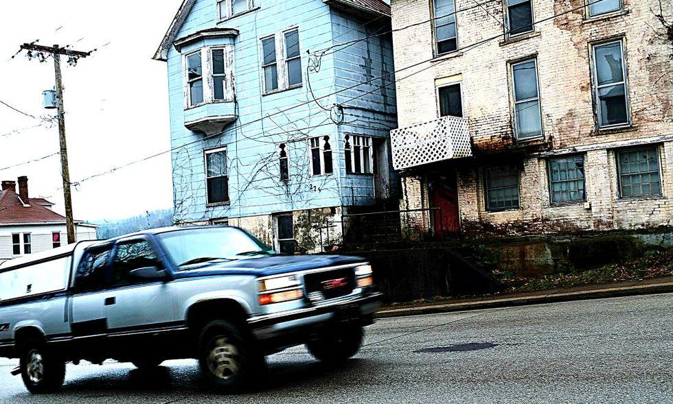 carbone povertà Waynesburg, Pennsylvania.