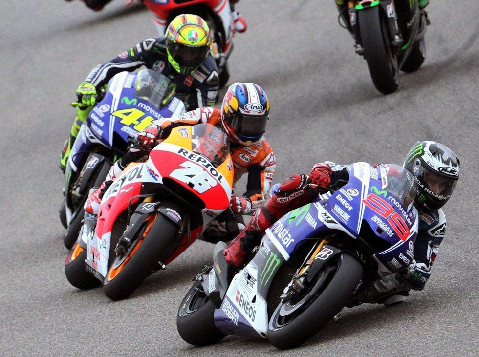 Gp Australia: Rossi, Lorenzo, Pedrosa per l'argento