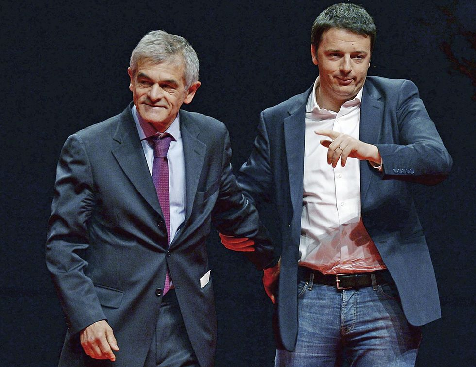 Chiamparino-Renzi: c'eravamo tanto amati