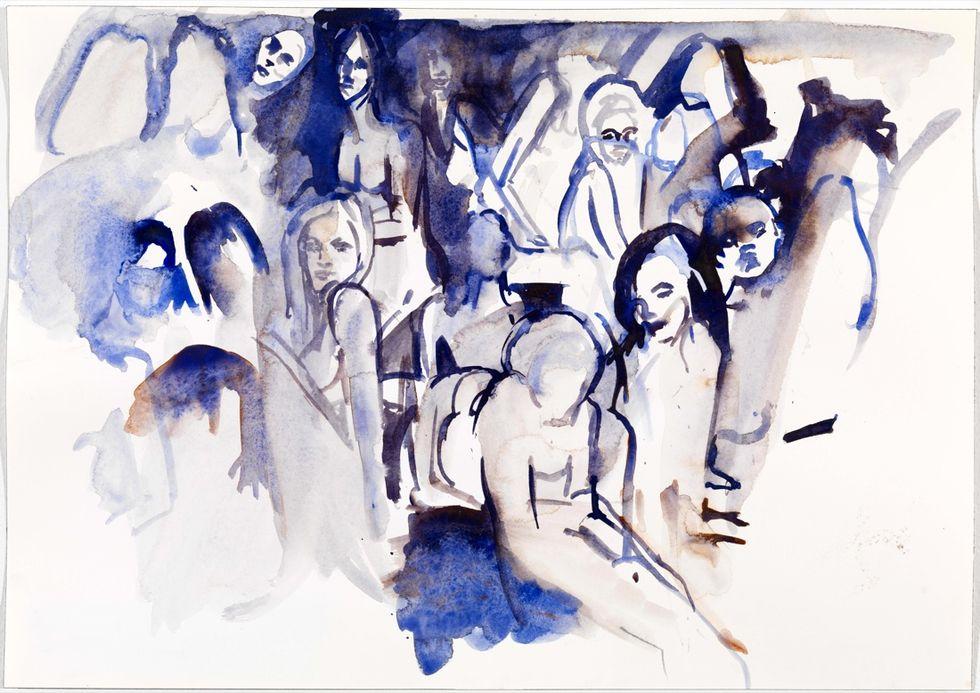 Cecily Brown in mostra al GAM di Torino